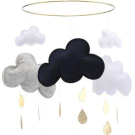 Konges Sløjd  Wolken mobiel 'Sloeberry'
