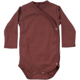 Minimalisma newborn bodysuit // Vintage Rose
