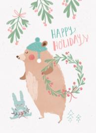 Bianca Pozzi 'Kaart Happy Holidays'