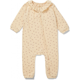 Konges Slojd Chleo Onesie // Bloom Red Blue