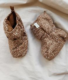 Konges Slojd Snow Boots // Blossom Mist Caramel