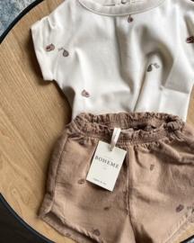 Studio Boheme Paris // Georgette shorts Latte Figs