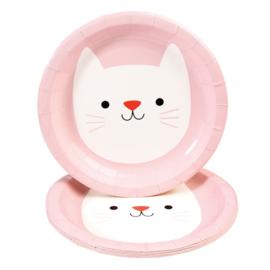 Cookie the Cat - Papieren borden ( set van 8 )