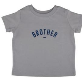 T shirt Brother // Pale grey  5 jaar