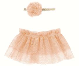 Tutu & hairband for mini - Rose