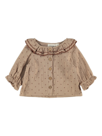 Lil' Atelier nbfester Ls shirt Lil // Almondine