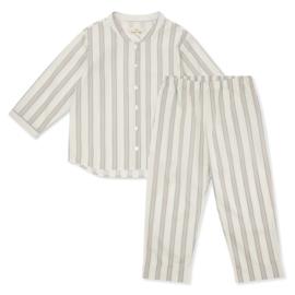 Konges Slojd vintage stripe pyjamas // Blue vintage stripes