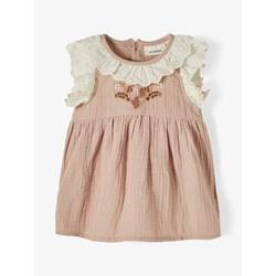 Lil'Atelier Nbfsilvia dress // Broderie Roze