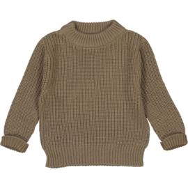 Studio Bohème Paris // Bun knit jumper Taupe