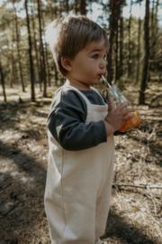 Organic zoo Salopette // Pebble dungarees