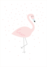 Poster A4 Studio Lily Rose 'Flamingo'