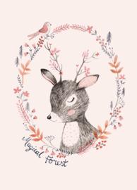 Rebecca Jones Kaart 'Magical Forest'