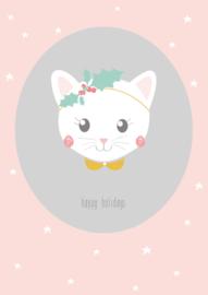 Petite Louise 'Kaart Happy Holidays'
