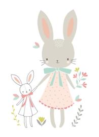 Flora Waycott Kaart 'Bunny Friends'