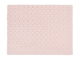 Deken Dentelle Licht Roze - 75x100cm