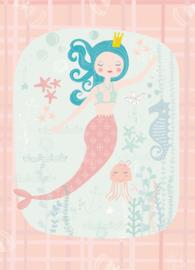Sara Brezzi kaart 'Mermaid'
