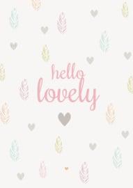 Petite Louise Kaart 'Hello Lovely'