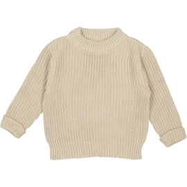 Studio Bohème Paris // Bun knit jumper Sable
