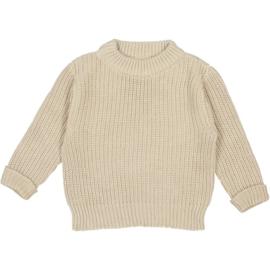 Studio Bohème Paris // Bun knit jumper Sable