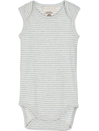 Serendipity Bodysuit  // Stripe Cloud - Offwhite