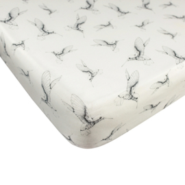 Fitted Sheet Baby Crib Cloud Dancers
