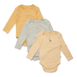 Konges Slojd 3 pack bodysuit // Apricot Mint Sorbet