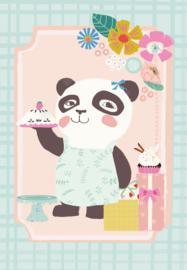 Sara Brezzi Kaart 'Pandabeer'