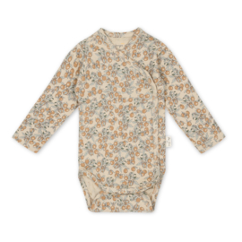 Konges Slojd Newborn body // Orangery beige