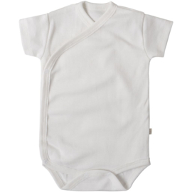 Minimalisma newborn bodysuit // White