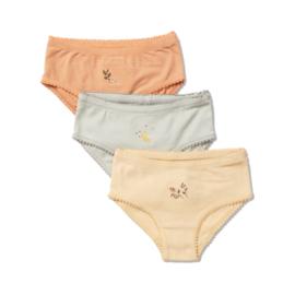 Konges Slojd 3 pack cue underpants // apricot mint sorbet
