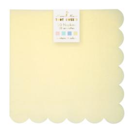 Pastel large napkins