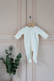"Bonjour Little - Babysuit "" Whipped Cream"""