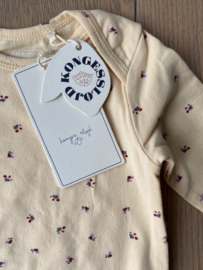 Konges Slojd Basic Onesie // Bloom Red Blue