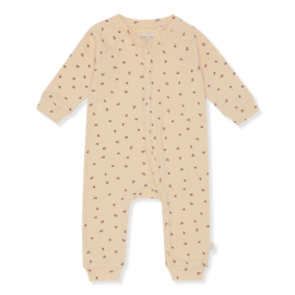 Konges Slojd Manny Onesie // Bloom Red Blue