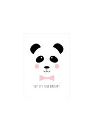 Kaartje Studio Lily Rose 'Panda'