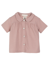 Serendipity Baby Jersey Shirt //  Heather Dots