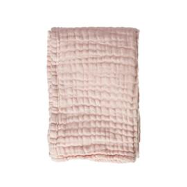 Wiegdeken Mousseline Blanket Soft Pink 70x100cm