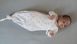 "Bonjour Little - Kimono Slaapzak ""Dots Cream"""