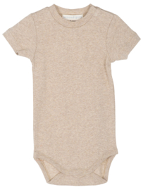 Serendipity Baby Bodysuit short sleeve // Oat