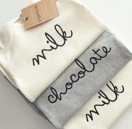 Organic zoo Bodysuit // Milk Cream