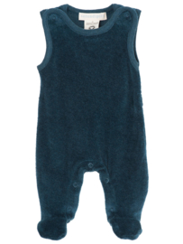 Serendipity Velour  Romper 'Atlantic '