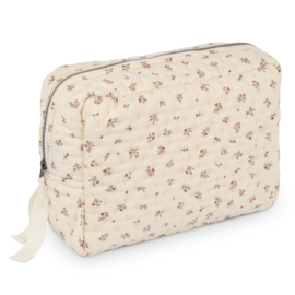Konges Slojd Quilted toiletry bag // Petit Amour Rose