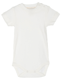 Serendipity Baby Bodysuit short sleeve // Ecru
