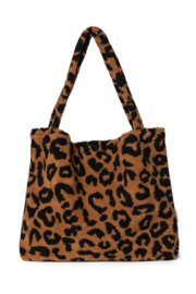 Studio Noos  Mom-Bag // Teddy Leopard Brown