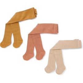 Konges Slojd 3 pack pointelle stocking // ice cream