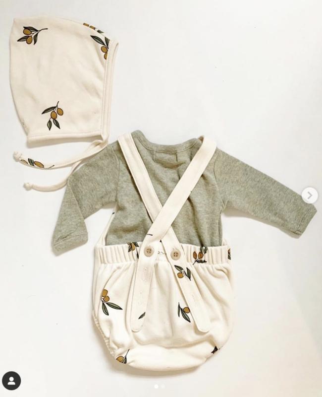 Organic zoo Bonnet // Olive Garden