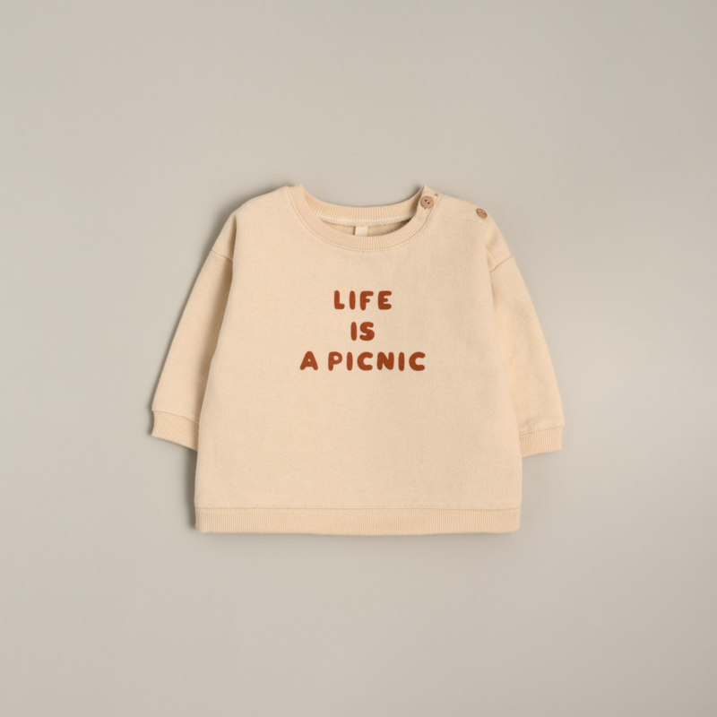 Organic zoo Sweater // Life is a picnic