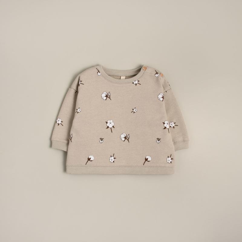Organic zoo Sweater // Cotton field