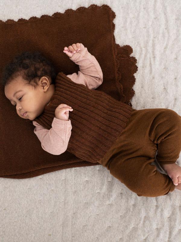 Serendipity Baby Leggings // Caramel