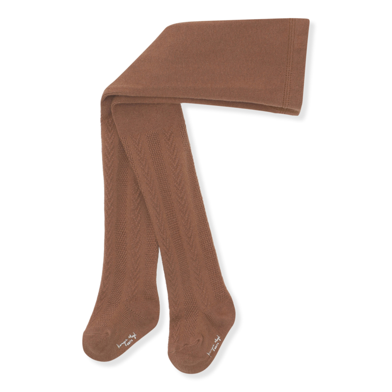 Konges Slojd Pointelle stockings // Choco Bean
